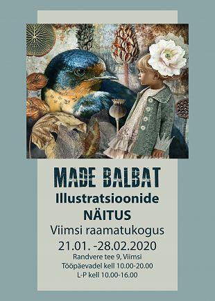 Made Balbati illustratsioonide näitus