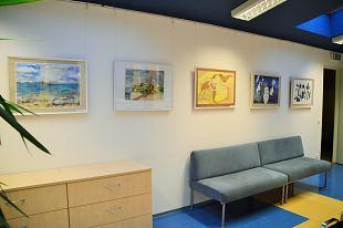 Viimsi Kunstikooli õpilastööde näitus