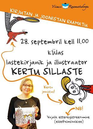 Lastehommik ''Kirjutan ja joonistan raamatu'' - Külas Kertu Sillaste!