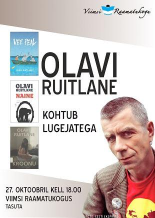 Olavi Ruitlane kohtub lugejatega