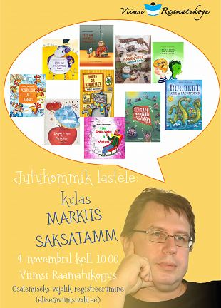 Lastehommik: Külas Markus Saksatamm