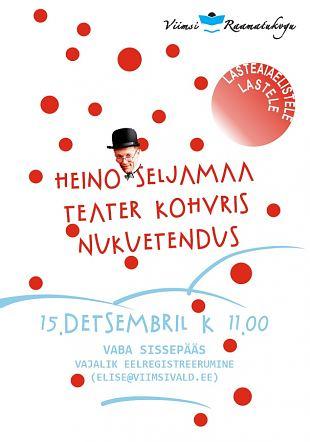 Heino Seljamaa Teater Kohvris nukuetendus