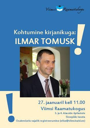 Lastele: Kohtumine kirjanik Ilmar Tomuskiga
