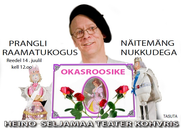 Prangli raamatukogus: Heino Seljamaa Teater Kohvris