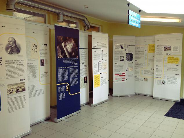 Rootsi trükivabaduse seaduse näitus