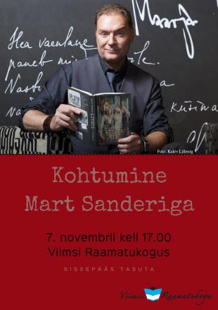 7. novembril k 17 kohtumine Mart Sanderiga