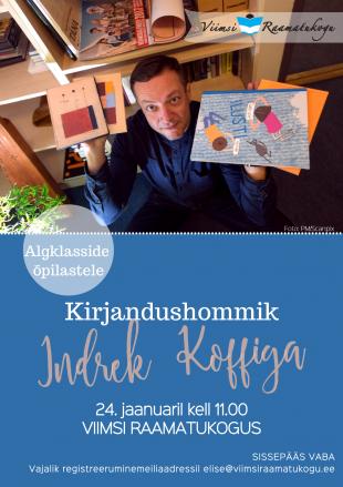 Kirjandushommik lastele: Indrek Koff