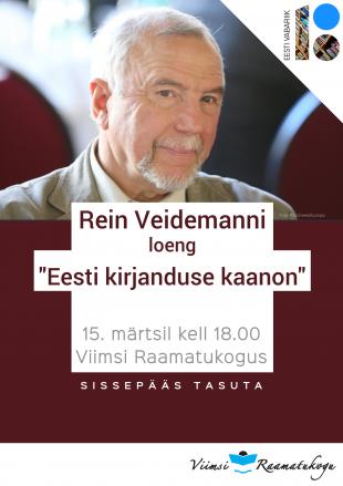 EV100: Rein Veidemanni loeng