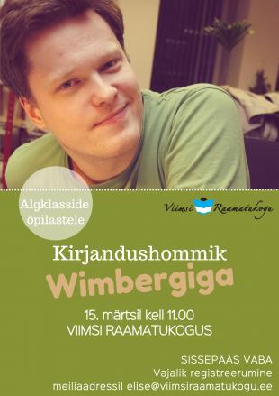 Kirjandushommik algklasside õpilastele: Wimberg