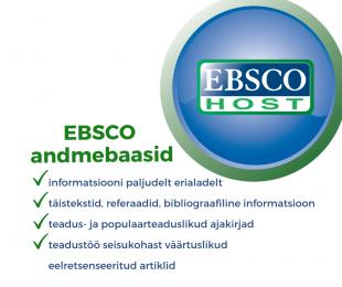 Tule EBSCO andmebaase kasutama!