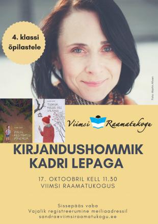 Kirjandushommik Kadri Lepaga