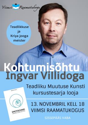 Kohtumisõhtu Ingvar Villidoga