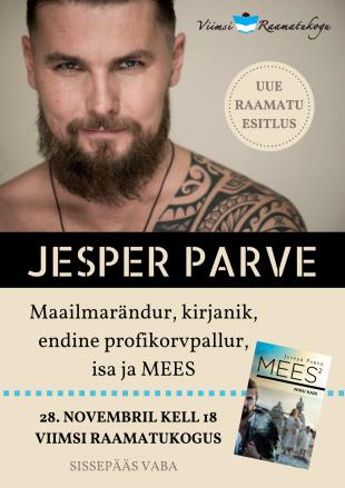 Kohtumisõhtu Jesper Parvega