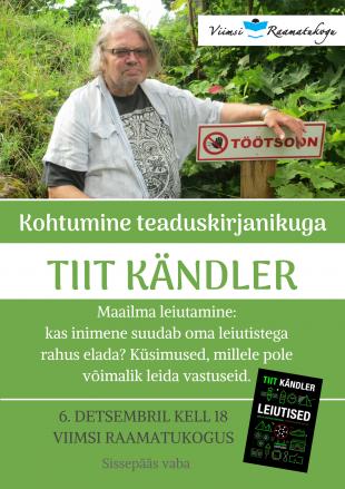 Kohtumisõhtu Tiit Kändleriga