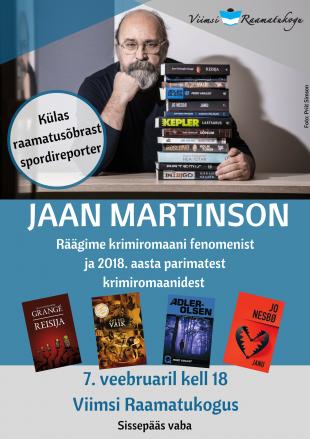 Vestlusõhtu Jaan Martinsoniga