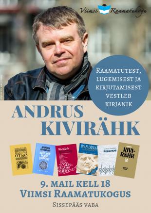 Kohtumine kirjanikuga Andrus Kivirähk